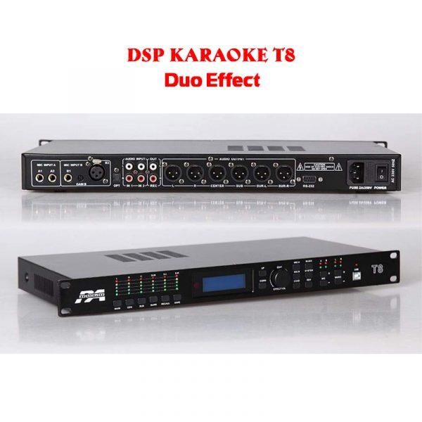 Mixer Karaoke Gia Hân T8 – Duo Effect